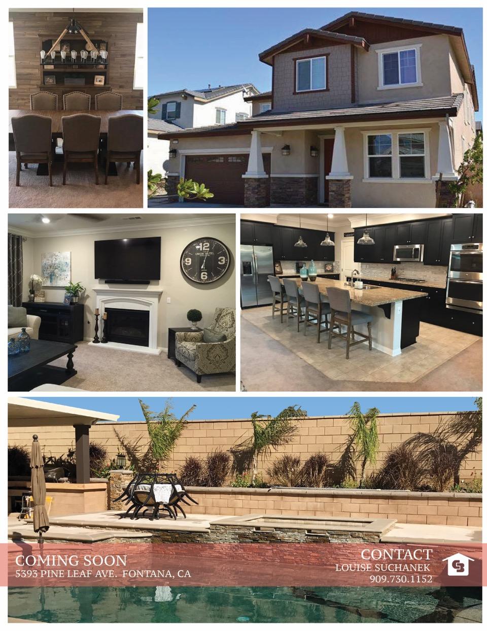 SOLD! 5393 Pine Leaf Ave. Fontana, CA 92336 - Louise Suchanek